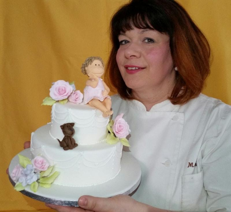 Marion Klammer Party Baeckerei Zuckermodelage